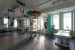 Rehabilitation room at physiotherapy clinic