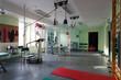 Room with rehabilitation equipment