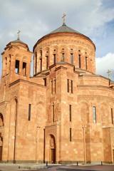 Cathedral Armenian church Surb Khach (Holy Cross) in Moscow