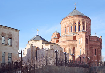 Cathedral Armenian church Surb Khach (Holy Cross)
