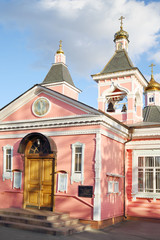 Entrance of Church of Transfiguration Savior in Bogorodskoe