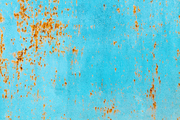 rusty blue metal background horizontal