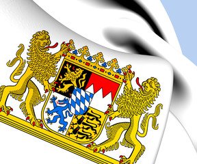 Bavaria Coat of Arms, Germany.