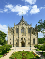 Cathedral St. Barbara of Kutna Hora. UNESCO World Heritage Site