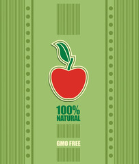 Non genetically modifies plants label