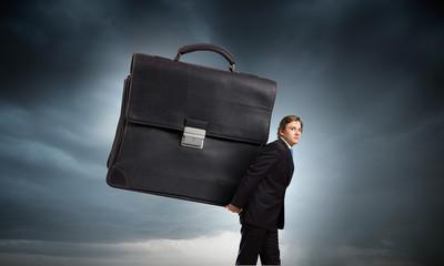 Hardworking businessman