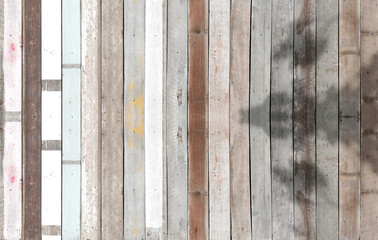 Textured of old wooden planks.
