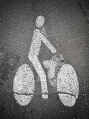 Piste réservée aux vélos