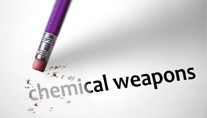 Eraser deleting the concept Chemical Weapons