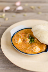 Indian balti chicken curry