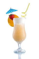 Pina Colada with design,umbrella