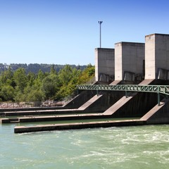 Hydro power plant in Austria