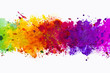 Abstract artistic watercolor splash background - 66948097