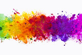 Photo: Abstract artistic watercolor splash background