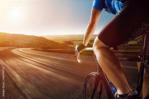 canvas print picture Racing Bike