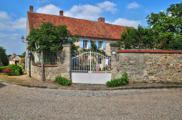 France, the picturesque village of Wy dit Joli Village