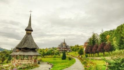 Monastery barsana bucovina, orthodox paradise