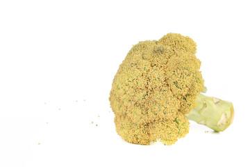 Raw broccoli.