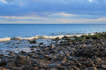 Lanzarote beach on Spanish Canary Island