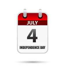 4 July Independence day calender