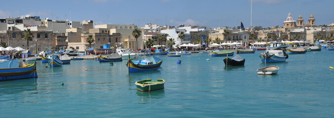 Malta, the picturesque city of Marsaxlokk