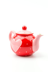 isolated heart kettle