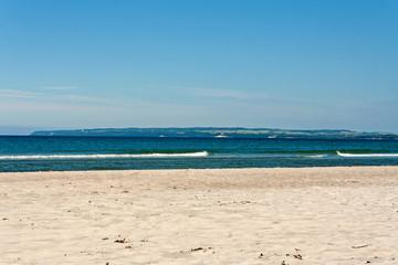 Schaabe beach, between Juliusruh and Glowe, towards Lohme