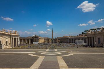 Saint Peter's Square in Vatican City