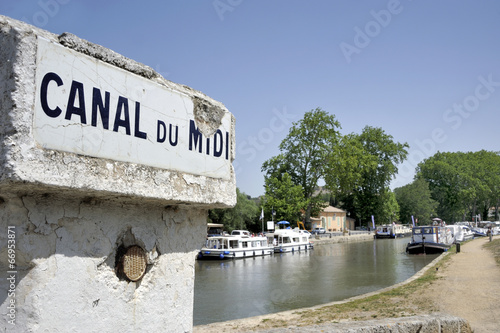 Papiers peints Europe Méditérranéenne Canal du Midi