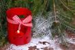 Windlicht mit Herz - Weihnachtlich