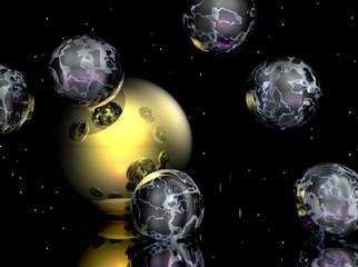 Transparent Spheres