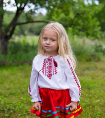 Little ukrainian girl