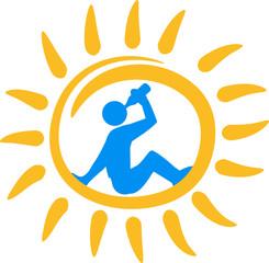 Sonne Trinken Saufen Alkohol Urlaub