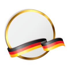 Signet mit Banderole - deutsch