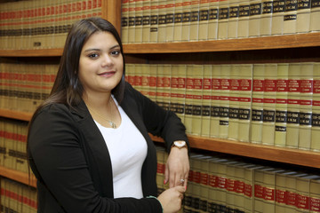 Young Female Hispanic Lawyer