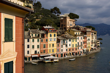 portofino in the north of italy