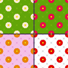 patterns with daisies