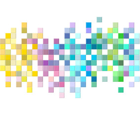 Colorful mosaic pattern design