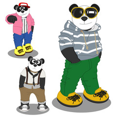 Panda lifestyle fashion