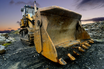 Quarry Shovel