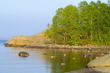 Waterfront landscape, Nord Trubervik, Sandefjord, Norvegia