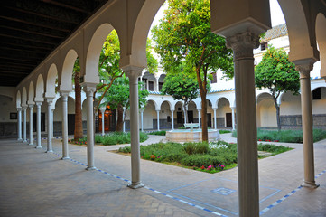 The convent of Santa Clara, Sevilla, Spain