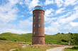 Leinwanddruck Bild - Peilturm Kap Arkona, Ruegen