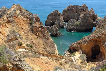 Ponta da Pietade in Algarve