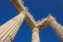colonnes du temple de Troie