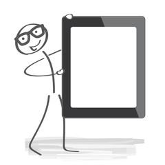 Tablet Computer mit freifläche