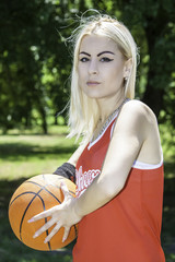 pretty basketball player
