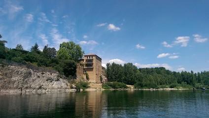 Vieux moulin pont du Gard