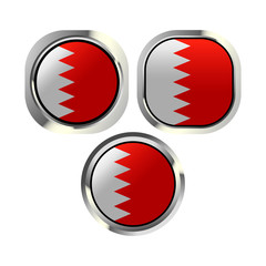 bahrain flag button