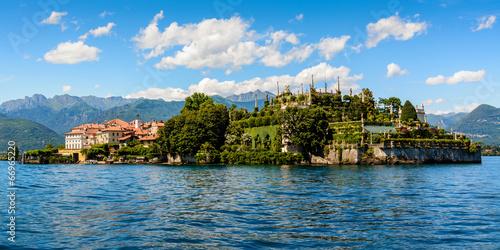 In de dag Alpen Islad Bella Maggiore Lake